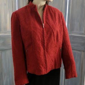 George brand blazer jacket in red very nice sz 16